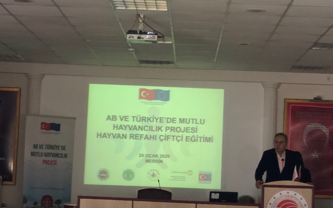 The first training of Animal Breeders within Civil Society Dialogue V – Jolly Livestock in Turkey and EU Project was carried out on 24th of January 2020 in Mersin Directorate of Provincial Agriculture and Forestry!