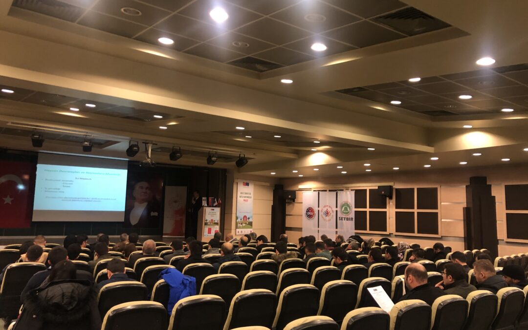 The third training of Animal Breeders within Civil Society Dialogue V – Jolly Livestock in Turkey and EU Project was carried out in cooperation with Erzurum Directorate of Provincial Agriculture and Forestry on 28th of February 2020 in Erzurum Chamber of Commerce and Industry!
